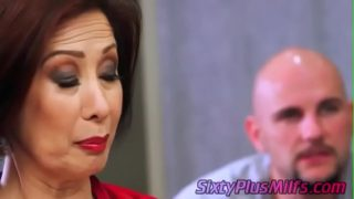 mature asian chick fucked by a big dick