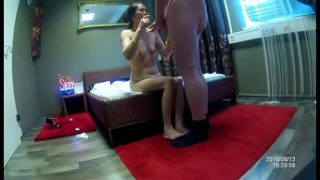 Chinese 18 skinny teen very shy on spy cam show on 6969cams.com