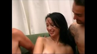two hard dicks for this chinese slut