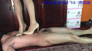 Sexy Trample in Sexy Heels